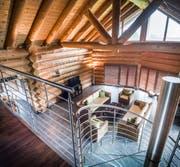 grösstes Blockhaus der Schweiz (Bild: Andrea Stalder)
