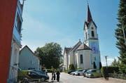 Der Platz vor der Kirche in St. Pelagiberg ist Ende Juni Schauplatz der nächsten Gemeindeversammlung von Hauptwil-Gottshaus. (Bild: Georg Stelzner)