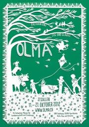 Das diesjährige Olma-Plakat. (Bild: pd)
