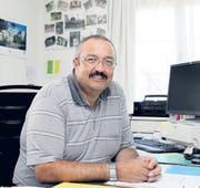 Erwin Stadler wagt einen Neustart: Am Freitag verliess er sein Büro in Degersheim zum letzten Mal. (Bild: meg.)