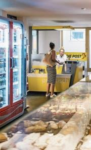 Postagenturen sollen Einzahlautomaten erhalten. (Bild: Christian Beutler/Keystone (Luzern, 20. Juni 2017))