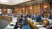 Die neue Kantonsverfassung wird im Kantonsrat voraussichtlich 2020 und 2021 beraten. (Bild: Ralph Ribi)