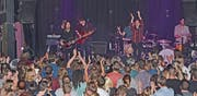 Boy begeisterten das Publikum im «Krempel» mit ihrem neuen Album «We were here». (Bild: Mengia Albertin)
