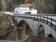 """Die Goldachbrücke ist die """"jüngere"""" der beiden Brücken, die über das Goldachtobel führen. (Bild: pd)"""