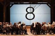Szenenbild aus «Carmen». (Bild: Hans Jörg Michel/Theater St. Gallen)