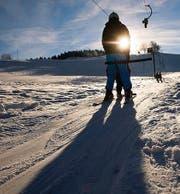 Dieser Skilift ist ein nichtföderalistischer Freigeist – wie der Schnee. (Bild: Urs Jaudas)