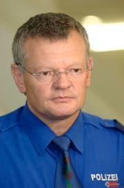 Der Innerrhoder Polizeikommandant Andreas Künzle geht in Pension. (Bild: REGINA KUEHNE (KEYSTONE))
