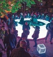 Die Lichtbar des Kunstvereins Rorschach hat bis 8. November täglich ab 18 Uhr geöffnet. (Bild: Christof Sonderegger)