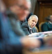 Dem Luzerner CVP-Ständerat Konrad Graber wurde gestern vorgeworfen, er mache «Politik der übleren Sorte». (Bild: Anthony Anex/Keystone (Bern, 19. September 2017))