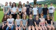 Auch sie gehören zu den Gewinnern: die Klasse 1a von Migg Hehli, Sekundarschule Appenzell. (Bild: PD)