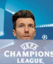 Basel-Trainer Raphael Wicky vor dem Vergleich mit Manchester City: «Mein Team weiss, was es kann.» (Bild: Georgios Kafelas/KEY)
