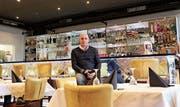 Restaurantbesitzer Bajram Memedi in seiner Pizzeria Bale's. (Bild: Hannelore Bruderer)