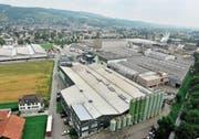 Weinfelder Industriequartier: Die Steuergesetzrevision soll dazu beitragen, bestehende Firmen zu halten und neue anzuziehen. (Bild: Reto Martin)