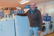 Inhaber Markus Angehrn ist stolz auf seinen gutfunktionierenden Betrieb. (Bild: ker)
