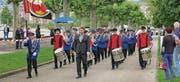 Die Bürgermusik Gams meisterte ihre Stücke gekonnt und war mit ihren Auftritten sehr zufrieden. (Bild: pd)