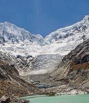 Gletscher über Huaraz. (Bild: fotolia)