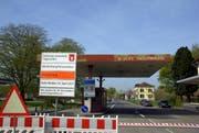Dieses Bild gehört der Vergangenheit an: Der Zoll Tägerwilen ist seit Donnerstag wieder geöffnet. (Bild: PD/Stadt Konstanz)