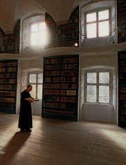 Das Leben als Mönch kann in Einsiedeln «getestet» werden. (Bild: ky/Sigi Tischler)