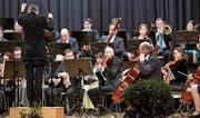Grossartige Musik bot das Orchester Liechtenstein-Werdenberg zum Jahresende. (Bild: Daniel Ospelt)