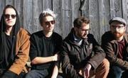 Hoffen auf den grossen Durchbruch: Moritz Lienhart, Alex Nauva, Sascha Schwegler und Beat Schenk von OGMH. (Bild: PD)