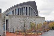 Das sanierte Australien-Haus erinnert an Sydneys Oper. (Bild: WALTER BIERI (KEYSTONE))