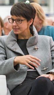 Fünf Jahre nach der Vereinigung mit der Politischen Gemeinde Bronschhofen zieht Wils Stadtpräsidentin Susanne Hartmann eine positive Bilanz. (Bild: Urs Bucher)