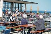 An Spitzentagen bis zu 500 Gäste im Buchhorn. (Bild: Max Eichenberger)