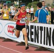 Martin Hubmann auf dem Weg zur WM-Bronzemedaille im Sprint. (Bild: sw)