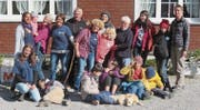 Die Kinder und die Helferinnen und Helfer genossen die Tage am Grabserberg. (Bild: PD)