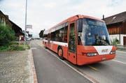 Der Bus der Autokurse Oberthurgau fährt ab Fahrplanwechsel im nächsten Jahr in Romanshorn teilweise anders. (Bild: Max Eichenberger)