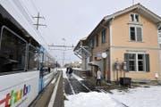Auf eine Unterführung am Bahnhof dürfte man in Arnegg noch lange warten. (Bild: Reto Martin)