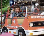 Feuerwehrfrau: Ein Kindertraum wird wahr.