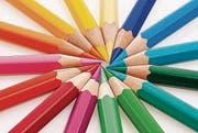 Farben begleiten den Menschen tagtäglich. (Bild: pd)