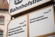 Das Zivilstandsamt in Weinfelden würde bei einer Standortreduktion wohl geschlossen. (Bild: Thi My Lien Nguyen)