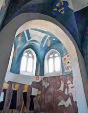 Mit der Gestaltung der Propstei St. Gerold wurde der Künstler 1977 bekannt. (Bild: Kunstmuseum Olten)