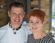 Erhielten 13 Punkte von Gault Millau: Christian und Marianne Birchmeier-Bollhalder, Restaurant Mühle, Oberschan. (Bild: PD)