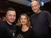 Tobi Will, Simone Will und Daniel Weidner. (Bilder: Chris Marty/tgplus.ch)