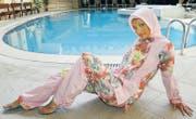 Jedes Land hat seinen eigenen Burkini. Dieses Modell wird Haschema genannt und vorzugsweise von jungen Türkinnen getragen. (Bild: Panos Pictures/Visum)