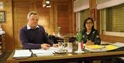 Die beiden Toggenburger FDP-Kantonsräte Kilian Looser (links) und Imelda Stadler (rechts). (Bild: PD)