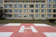 Die Erneuerung und Erweiterung des Spitals Altstätten verzögert sich. Bereits gegen den Gestaltungsplan gingen mehrere Einsprachen ein. (Bild: Luca Linder/Archivbild)
