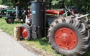 Traktoren mit Holzvergaser stammen aus der Zeit des Zweiten Weltkrieges. (Bild: PD)