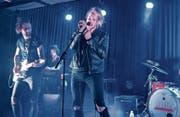 The Souls standen nach einem Monat Pause zum ersten Mal wieder auf der Bühne und gaben deshalb umso mehr Vollgas. (Bild: Julia Kaufmann)
