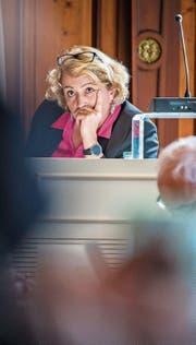 Regierungsrätin Cornelia Komposch scheiterte mit ihrem Last-Minute-Kompromissvorschlag. (Bild: Reto Martin)