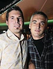 Tom Zwahlen und Markus Achermann.