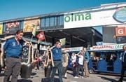 Die Olma bleibt selbstverständlich der Höhepunkt im St. Galler Messejahr. (Bild: Urs Bucher)