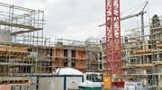 Die Bautätigkeit in Romanshorn bleibt hoch. Aktuell wird die Wohnüberbauung Romishof in die Tat umgesetzt.