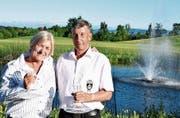 Die Sieger Brigitte Sutter und Hansruedi Bär. (Bild: Corinne Gschwind)