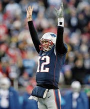 Quarterback Tom Brady führte die New England Patriots gegen die Jacksonville Jaguars zum Sieg. (Bild: Charles Krupa/AP)