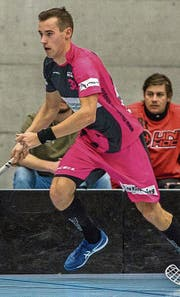 Der Lette Andris Rajeckis ist mit zehn Toren aus fünf Spielen Playoff-Topscorer. (Bild: Sandro Schmuki)