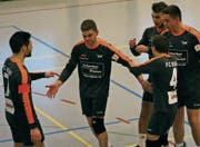 Trotz grossen Einsatzes blieb die NLA-Equipe von Rickenbach-Wilen ein weiteres Mal ohne Punkte. (Bild: Herbert Brägger)
